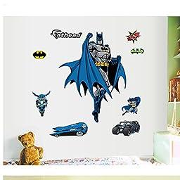 Gadfly- Batman Stick Nursery/baby Wall Sticker Decal