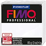 Fimo Professional Soft Polymer Clay 3Oz-White