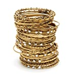 Amrita Singh India Bangle Set- Gold