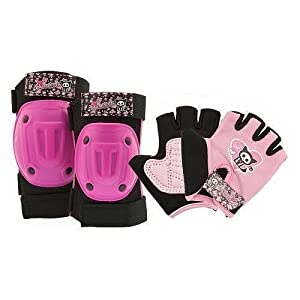 Skelanimals - Cute and Sporty Protective Gear for Girls (ages 5-8).....For... by Skelanimals