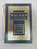 Walden and Other Writings...Barnes & Noble 1992 Leather Bound Publication