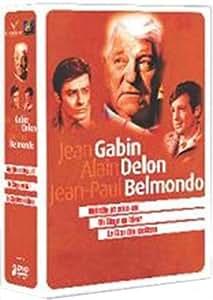 Jean Gabin, Alain Delon, Jean-Paul Belmondo : Coffret 3 films n° 1