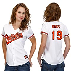 Chris Davis Baltimore Orioles Home Ladies Replica Jersey by Majestic by Majestic