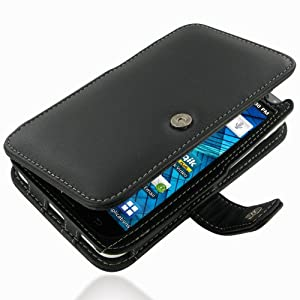 PDair B41 Black Leather Case for Samsung Galaxy S WiFi 5.0 YP-G70