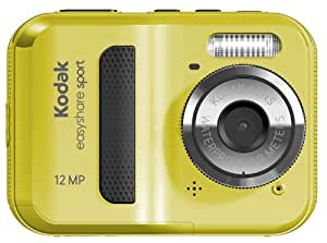 Kodak EasyShare Sport C123 Digitalkamera (12 Megapixel, 5-fach digitaler Zoom, 6,1 cm (2,4 Zoll) Display, wasserdicht) gelb