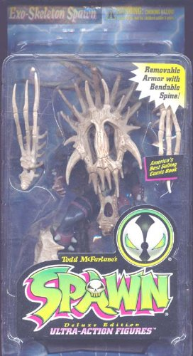 Spawn Ultra Action Figures EXO-SKELETON SPAWN