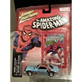 Johnny Lightning Marvel The Amazing Spiderman 1968 Chevrolet Camaro Chevy Die-Cast Metal Car