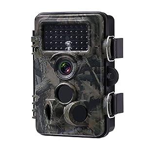 Powerextra トレイルカメラ 防犯カメラ 狩猟カメラ 野外監視 暗視 動物撮影