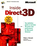 img - for Inside Direct3D (Dv-Mps Inside) by Peter J Kovach (2000-04-01) book / textbook / text book