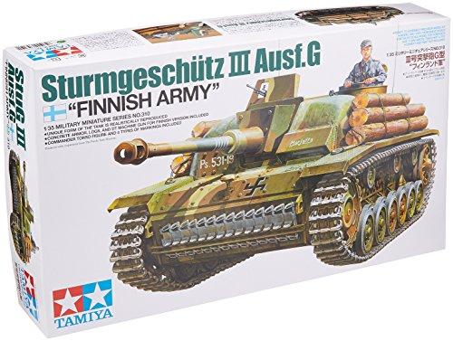 Tamiya-300035310-WWII-Sturmgeschtz-III-Ausfhrung-G-Finnland-1942-Bausatz-135