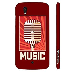 Micromax Canvas A1 Radio Station designer mobile hard shell case by Enthopia