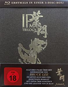 Ip Man Trilogy 3-Disc-Box (Im Leinen-Hardcover plus Booklet) [3 Blu-rays] [Special Edition]