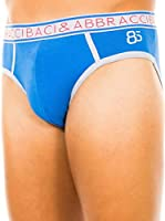 Baci & Abbracci Pack x 2 Slips (Azul Royal)