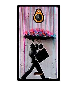 Fuson 2D Printed Boy Designer back case cover for Nokia X2 - D4557