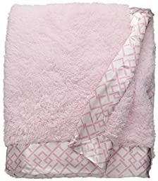 Quiltex Little Girls Pink Receiving Blanket, One Size