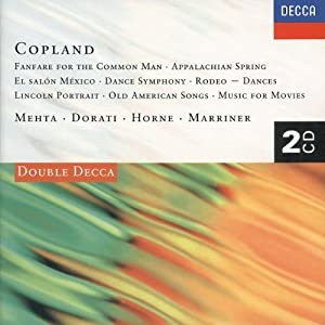 Copland: Vocal and Orchestral Works