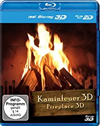 Fireplace 3D [Blu-ray 3D+2D] (Region Free)