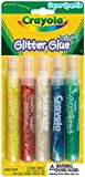 Crayola Super Sparkle Washable Glitter Glue 5 Count