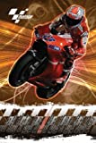 Moto G.P Maxi Poster Featuring Australian Champion Casey Stoner On Bike 27 Racing For Team Honda Race To The Finish Full Colour 61x91.5cm
