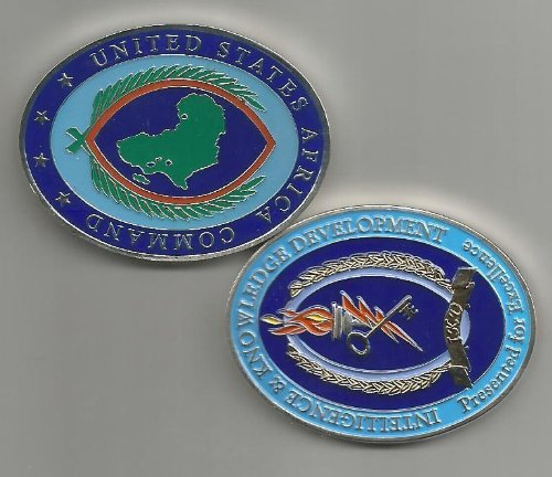 United States Africa Command Intelligence & Knowledge Development Challenge Coin