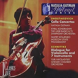 Natalia Gutman - Cello Concertos 1 & 2 / Dialogues for Violoncello