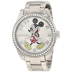 Ingersoll Unisex IND 26166 Ingersoll Disney Classic Time Mickey Diamante Watch