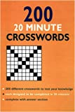 200 20-minute Crosswords