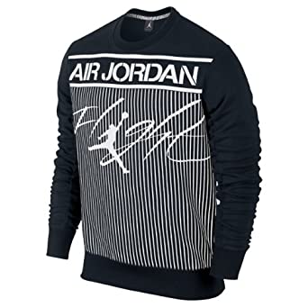 Mens Nike Air Jordan Colossal Flight Crewneck Sweatshirt by Jordan