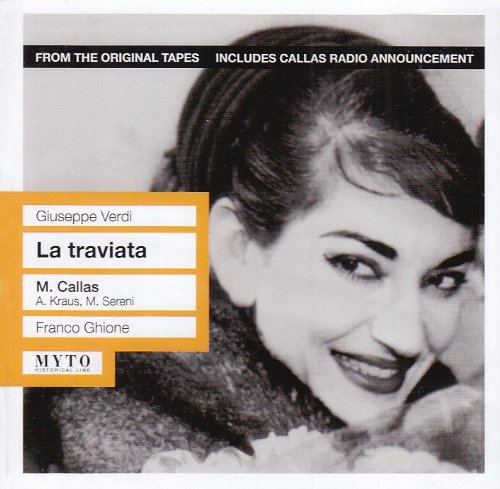 La Traviata(Callas, Kraus, Sereni) - Verdi - CD