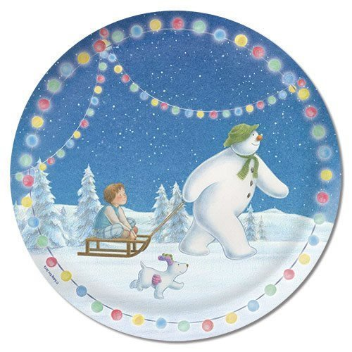 Raymond Briggs The Snowman Christmas Tree Decorations: The Snowman And The Snowdog Christmas Party Decorations