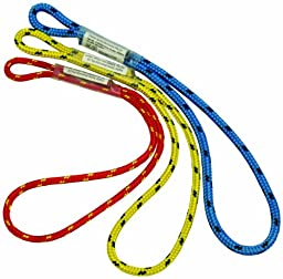 3M DBI-SALA Rollgliss 8700605 Technical Rescue Short Prusik, 5/16-Inch Kernmantle Rope, 1.3-Foot Loop Length, Blue With Black Fleck