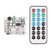 KKmoon USB DC 5V Wireless Bluetooth 2.1 Audio Receiver Board Amplifier Module FM Radio Function TF Card Slot