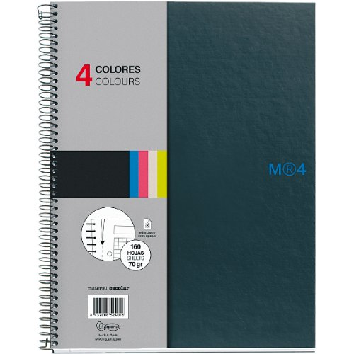 miquelrius-6-x-8-a5-graphite-notebook-4-subject-graph-paper
