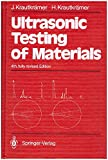 img - for Ultrasonic Testing of Materials book / textbook / text book