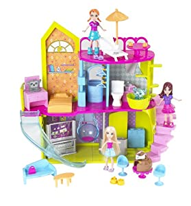 Polly Pocket Pollyworld House Playset