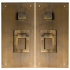 Square in Square Plate - Set of 2