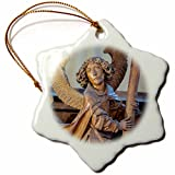 3dRose Danita Delimont - Churches - Germany, Rothenberg, St Jacobs Church - EU10 JEN0291 - Jim Engelbrecht - 3 inch Snowflake Porcelain Ornament (orn_137116_1)