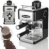 Sentik Professional Espresso Cappuccino Coffee Maker Machine Home - Office (Black)