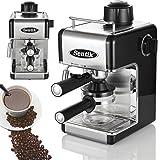 Kitchen - Sentik Professional Espresso Cappuccino Coffee Maker Machine Home - Office (Black)