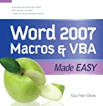Word 2007 Macros & VBA Made Easy