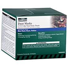 MSA Safety Works 10059526 Dust Masks For Non Toxic Dusts 25 Pack