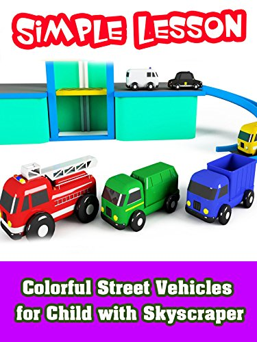 Colorful Street Vehicles for Child with Skyscraper on Amazon Prime Video UK
