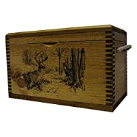 Standard Wooden Box with Rope Handle