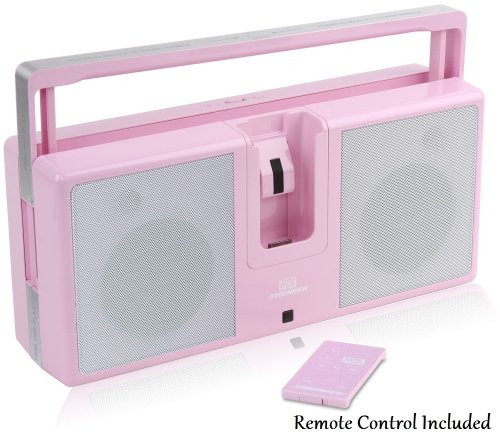 iThunder Powerful & Portable iPod Speaker Stereo Sound System - Features 2 Full Range 4