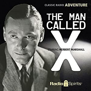 The Man Called X Radio/TV Program