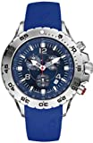 Nautica Men's Sport N14555G Blue Resin Analog Quartz Watch with Blue Dial