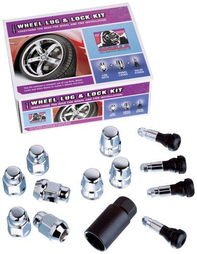 Gorilla Automotive 41983 Acorn Bulge Seat Wheel Installation Kit (1/2