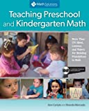 img - for Teaching Preschool and Kindergarten Math: More Than 175 Ideas, Lessons, and Videos for Building Foundations in Math, A Multimedia Professional Learning Resource book / textbook / text book
