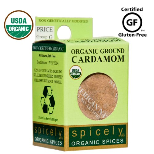 Spicely 100% Organic and Certified Gluten Free,