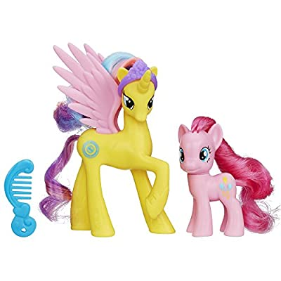 My Little Pony Princess Gold Lily and Pinkie Pie Figures by My Little Pony